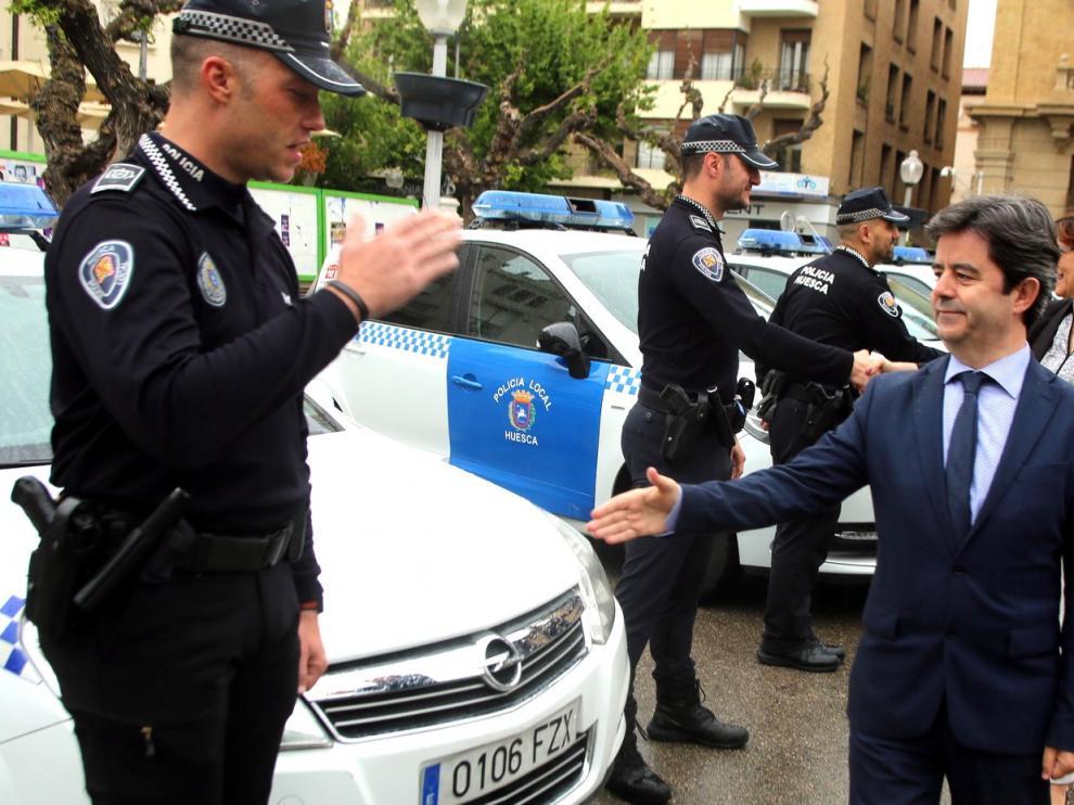"""El fin del """"pack"""" laurentino tensa la organización de la Policía Local de Huesca"""