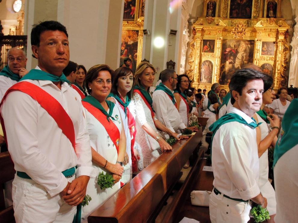 Los ediles de Huesca podrán ir a actos religiosos con la banda pero a título particular