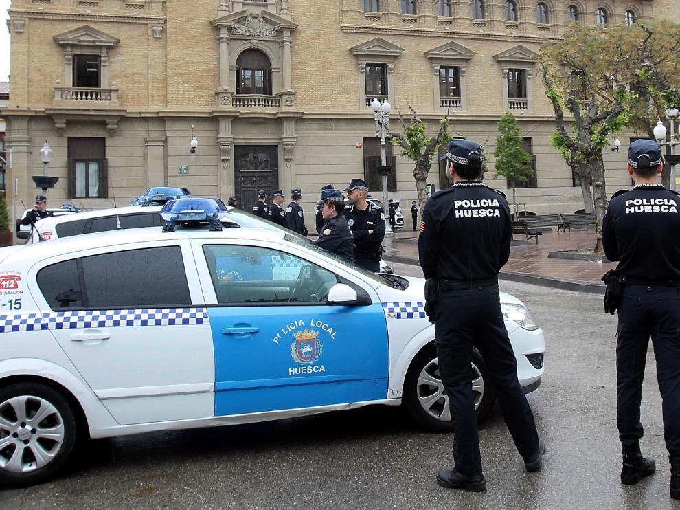 El Ayuntamiento de Huesca saca a licitación la centralita telefónica de la Policía Local de Huesca