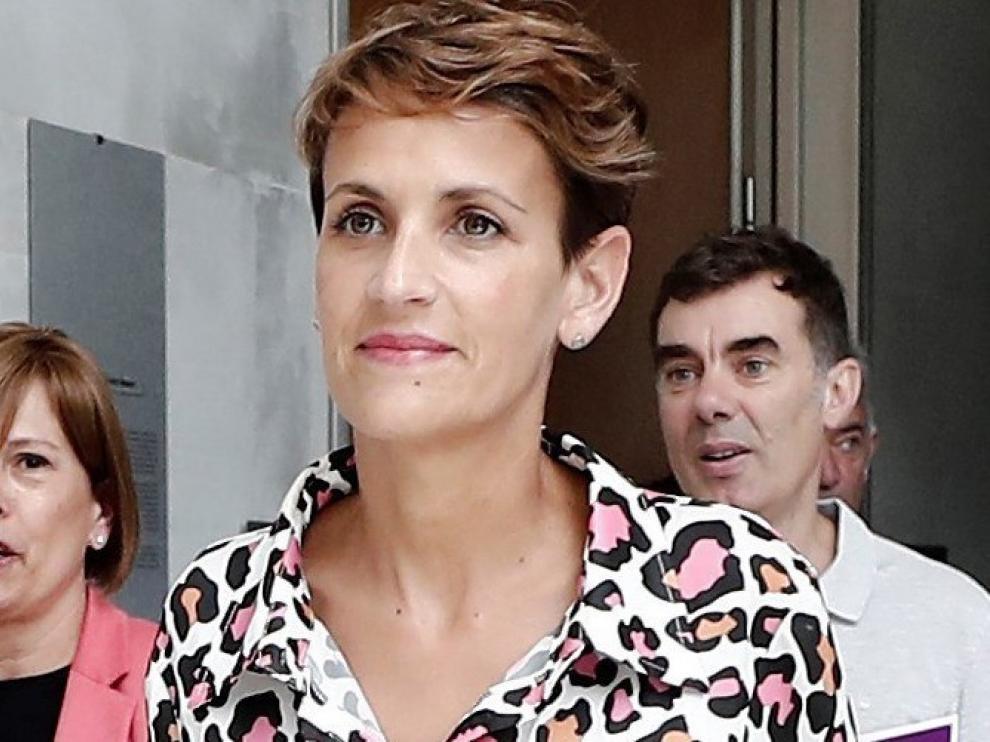 María Chivite no logra la investidura en la primera votación