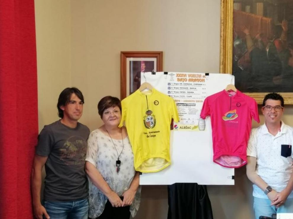 Arranca en Chiprana la XXXVI Vuelta Ciclista al Bajo Aragón Cadete