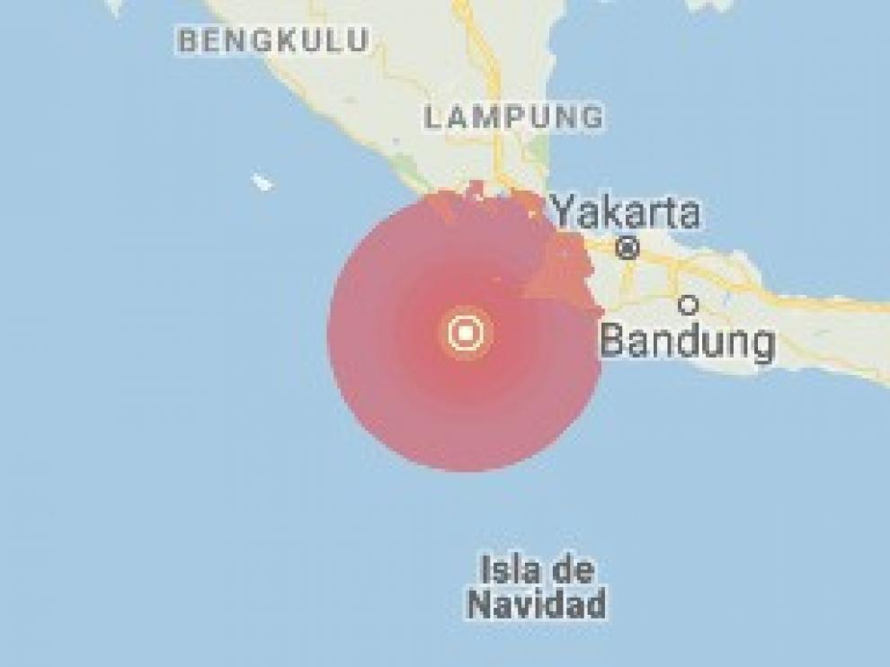 Un terremoto de magnitud 6,8 sacude las islas de Java y Sumatra en Indonesia