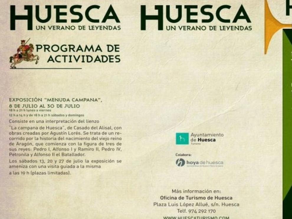 Diaples, bandoleros, brujas y pócimas protagonizan el programa 'Huesca, un verano de leyendas' en agosto y septiembre