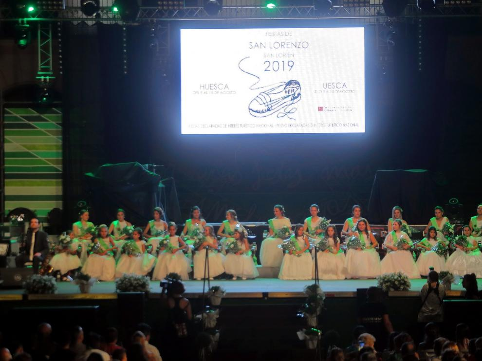 La presentación de las mairalesas prende de nuevo el sentir laurentino en Huesca
