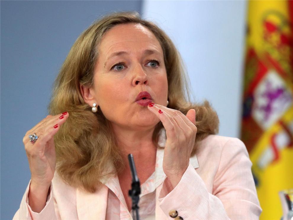 """Calviño justifica su retirada para dirigir el FMI en que la UE tenga """"cuanto antes"""" un """"candidato único"""""""