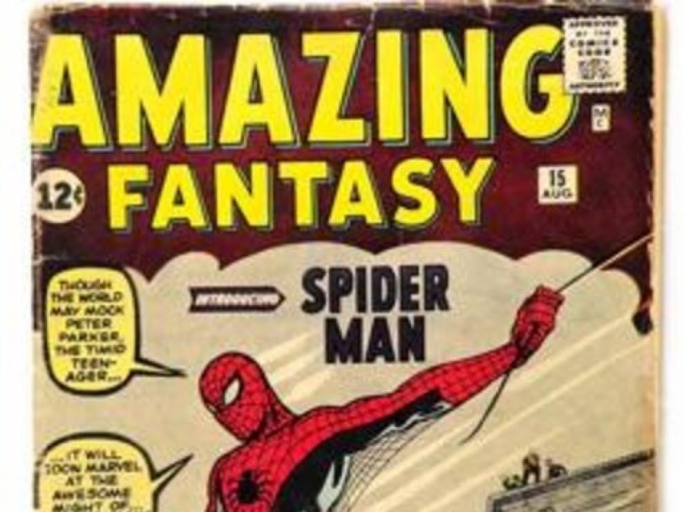Sale a subasta el primer cómic de Spider-Man, uno de los más buscados