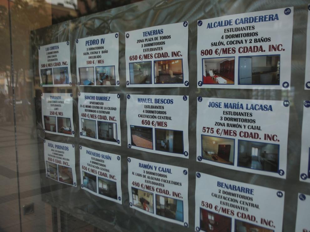 Las viviendas se han revalorizado un 19 % en Huesca