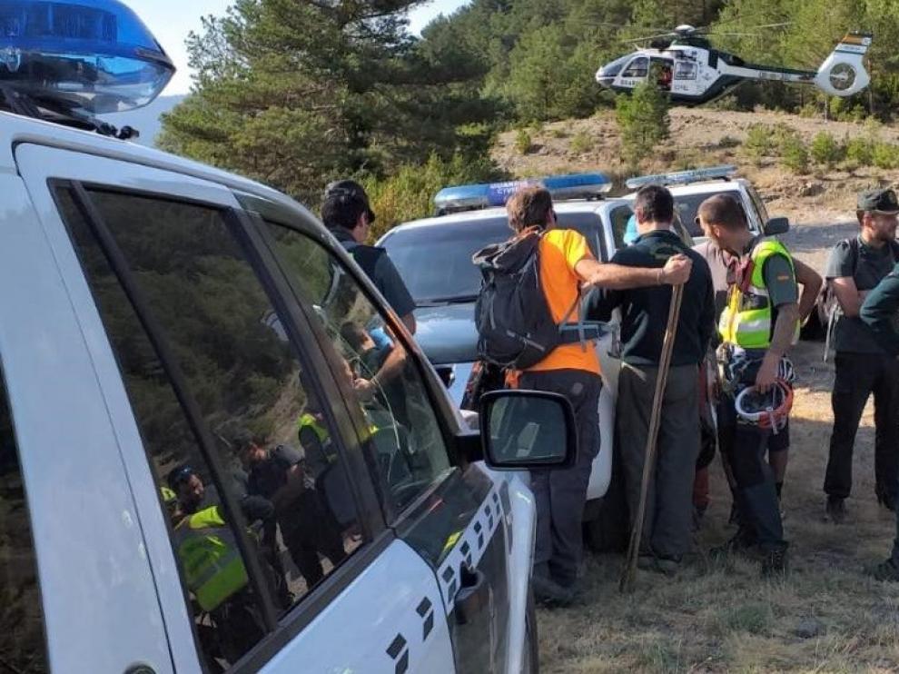Se amplía la búsqueda del hombre de 71 años desaparecido en la zona de Añisclo