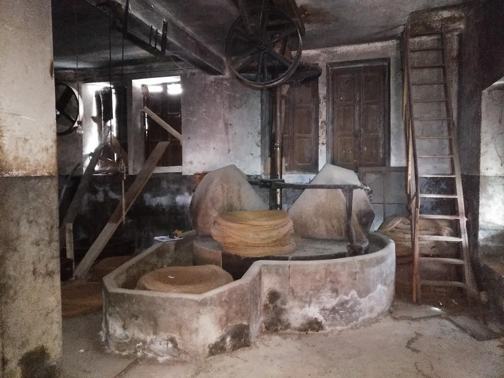 El antiguo molino de aceite de Boltaña reabrirá sus puertas como oficina de turismo