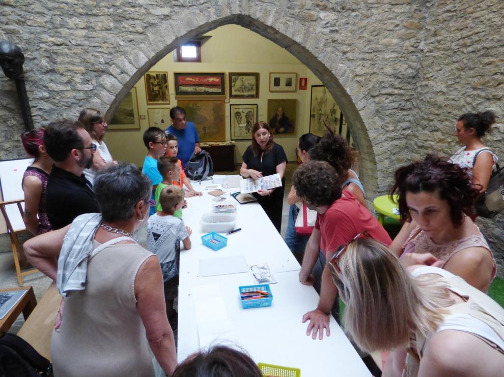 El microteatro se adueña del Museo de Dibujo de Larrés