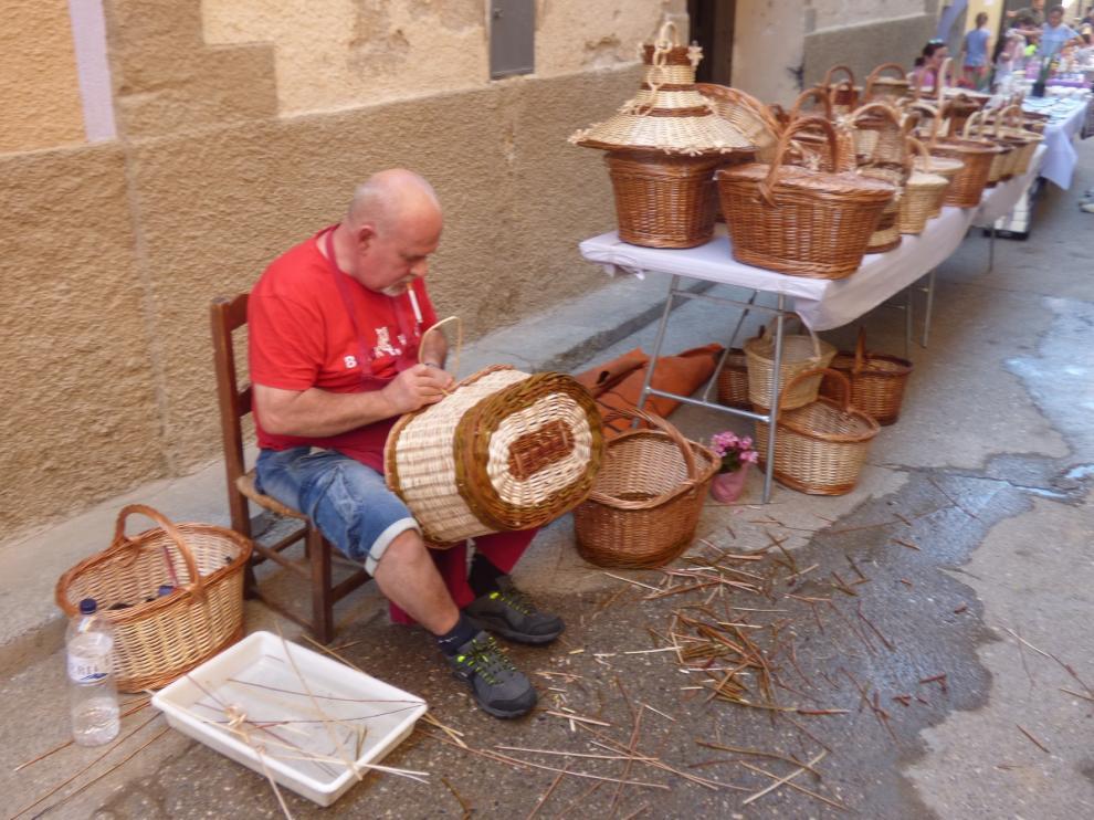 Buera, un escaparate para los artesanos y oficios de antaño