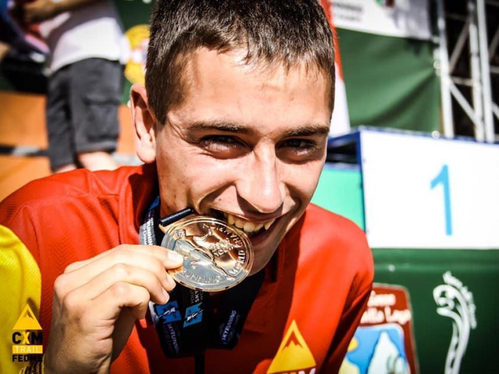 Osanz cierra el Mundial con dos oros y una plata