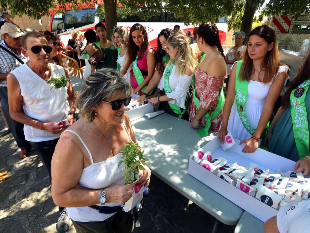 La devoción por San Lorenzo llena Loreto en el homenaje a la cuna del patrón