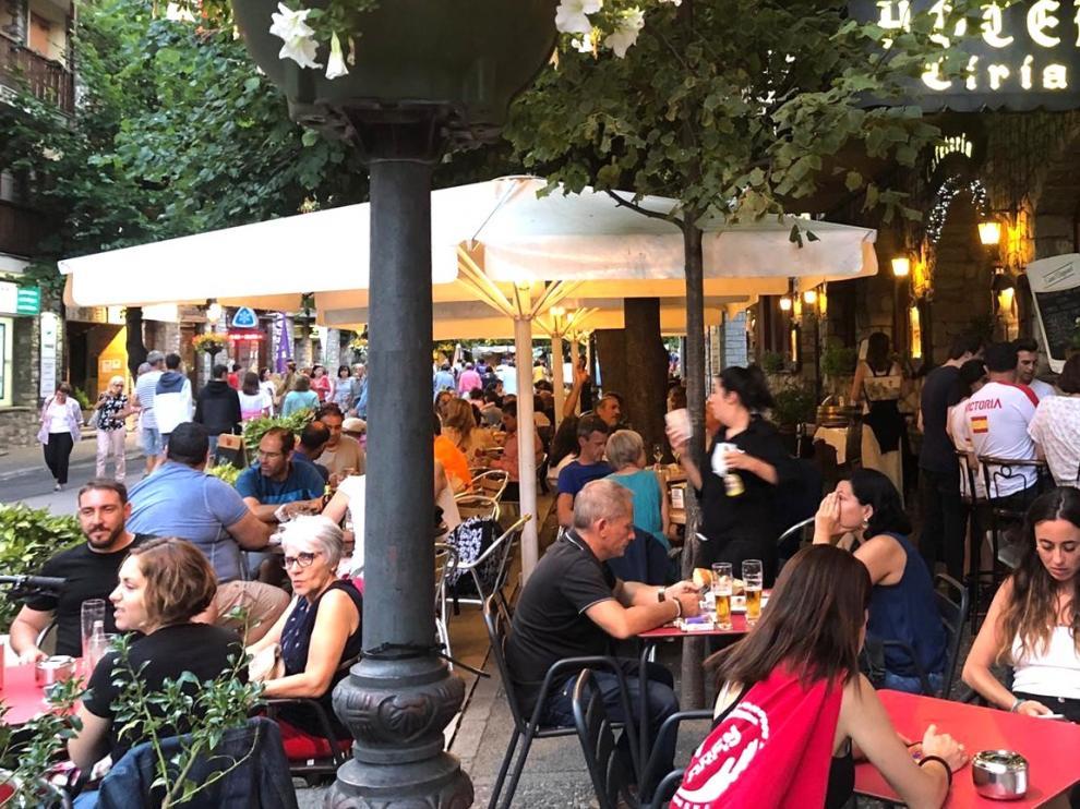 Agosto marca la máxima ocupación hotelera y de visitas este verano en la provincia de Huesca