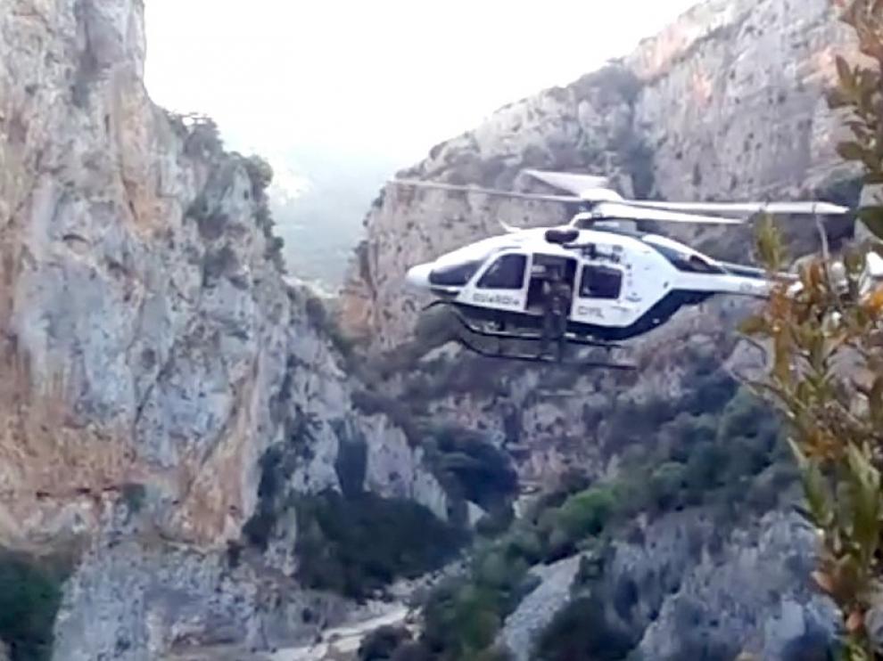 Un deportista francés muere al caer por una senda en Bierge