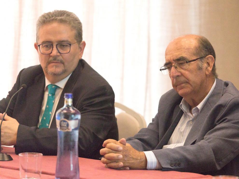"""Adolfo Martín: """"Huesca está pesando y creciendo"""""""