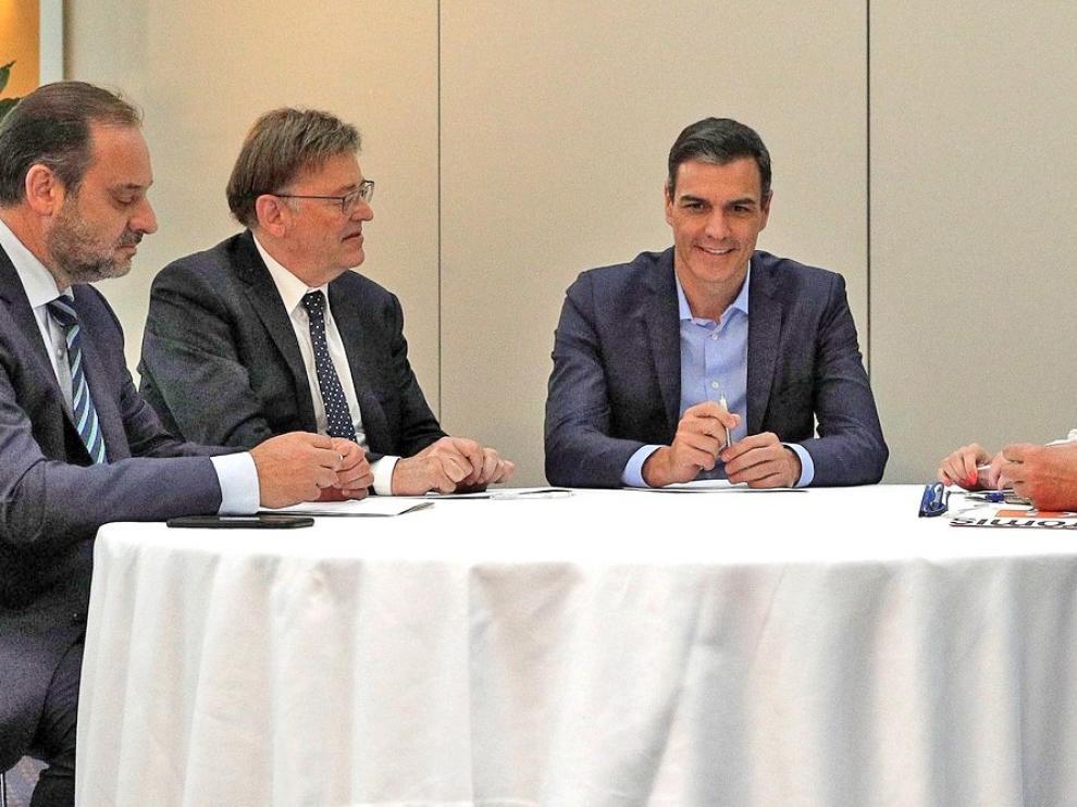 El PSOE oferta a Compromís un nuevo documento