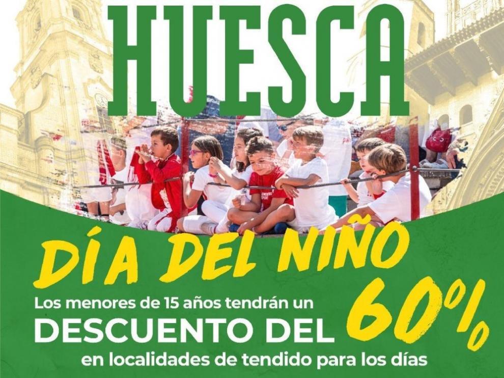 """El 13 y el 14 de agosto, """"días del niño"""" en la feria taurina de Huesca"""