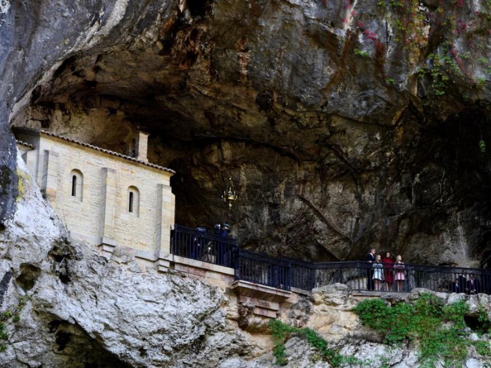 Muere el niño de Zaragoza que cayó de 6 metros en Covadonga