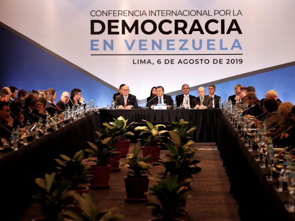 Bloqueo de los bienes de Venezuela en EEUU