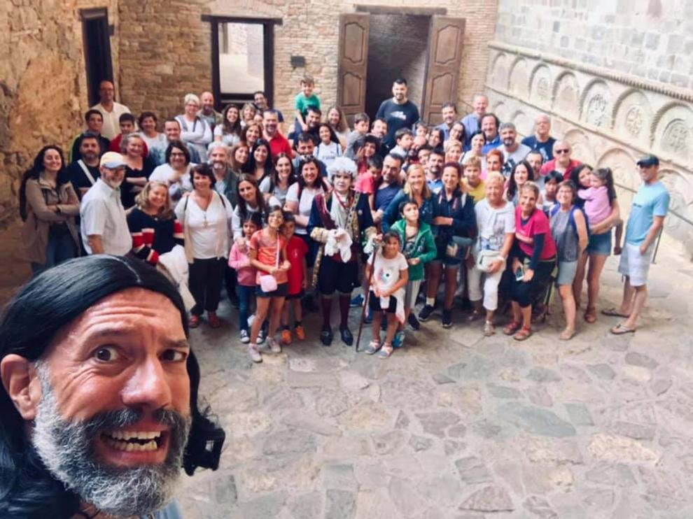 San Juan de la Peña retoma sus exitosas visitas teatralizadas llenas de humor