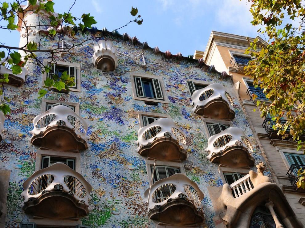 La Casa Batlló, elegida como el mejor edificio modernista de España
