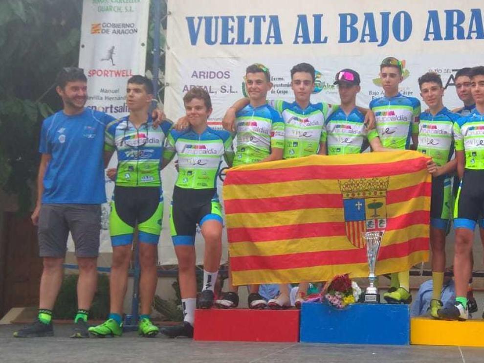 Vive Huesca cierra una notable Vuelta al Bajo Aragón