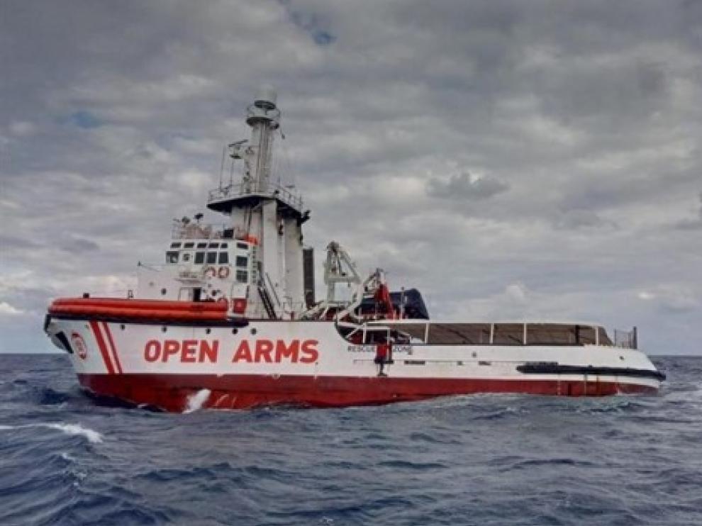 Sassoli pide a Juncker ayuda urgente para los migrantes del Open Arms
