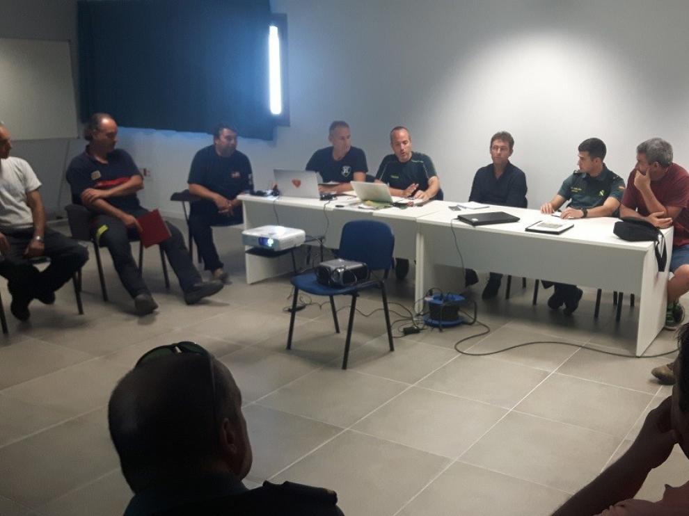 Reunión de seguridad en Fraga para ultimar el dispositivo
