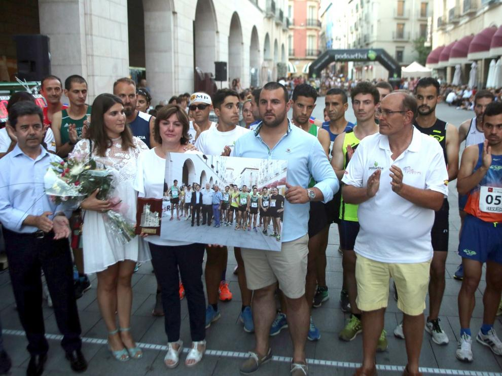 La XXI Pedestre San Lorenzo recuerda a Guti con un sensacional ambiente