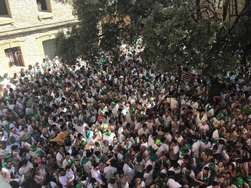 Huesca arranca la fiestas con pasión y la bandera del respeto