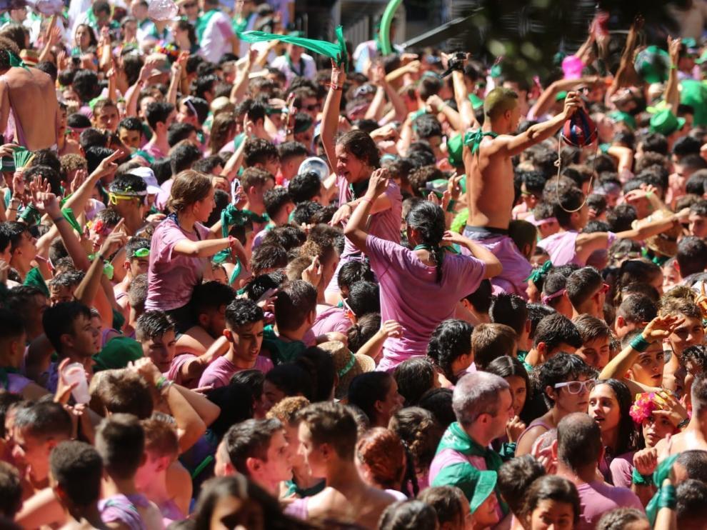El Ayuntamiento de Huesca ha decidido suspender las fiestas de San Lorenzo dada la situación de pandemia por el coronavirus