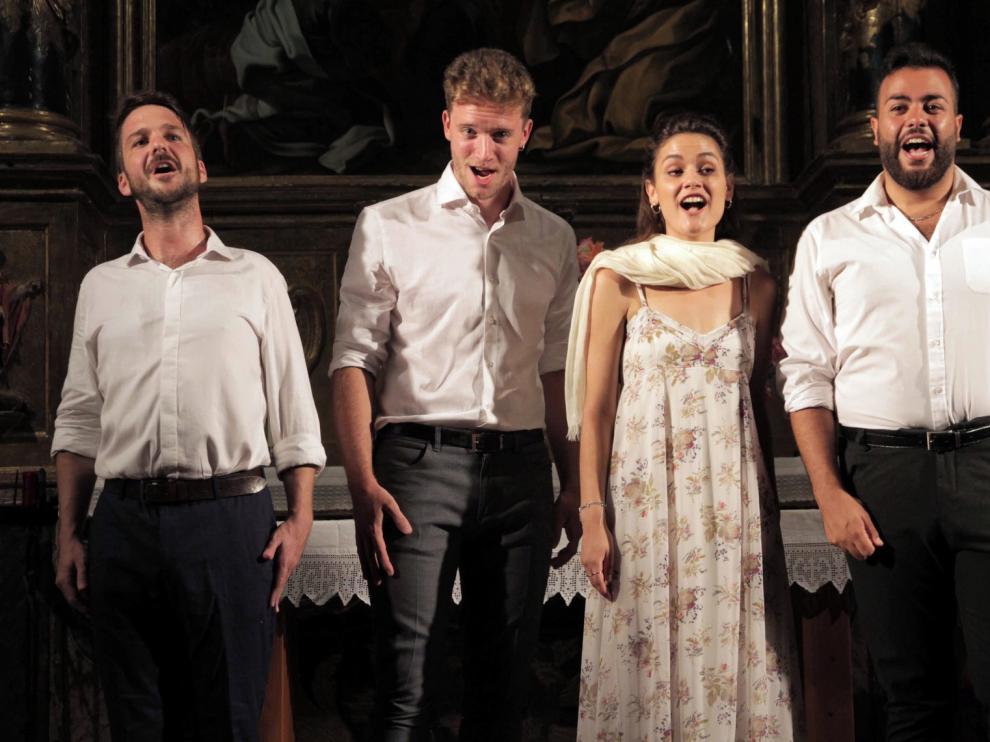 Vitalidad y armonía de cuatro lenguas magníficas en la actuación de Cantoría