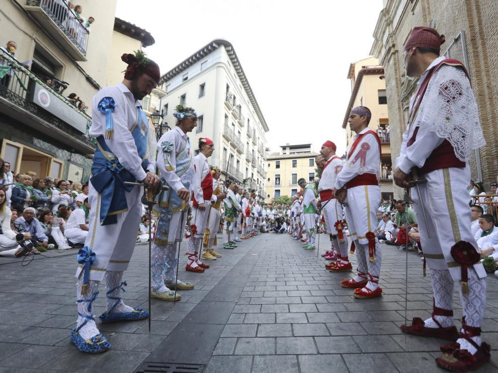 Los danzantes serán los protagonistas las fiestas de Huesca en el día San Lorenzo