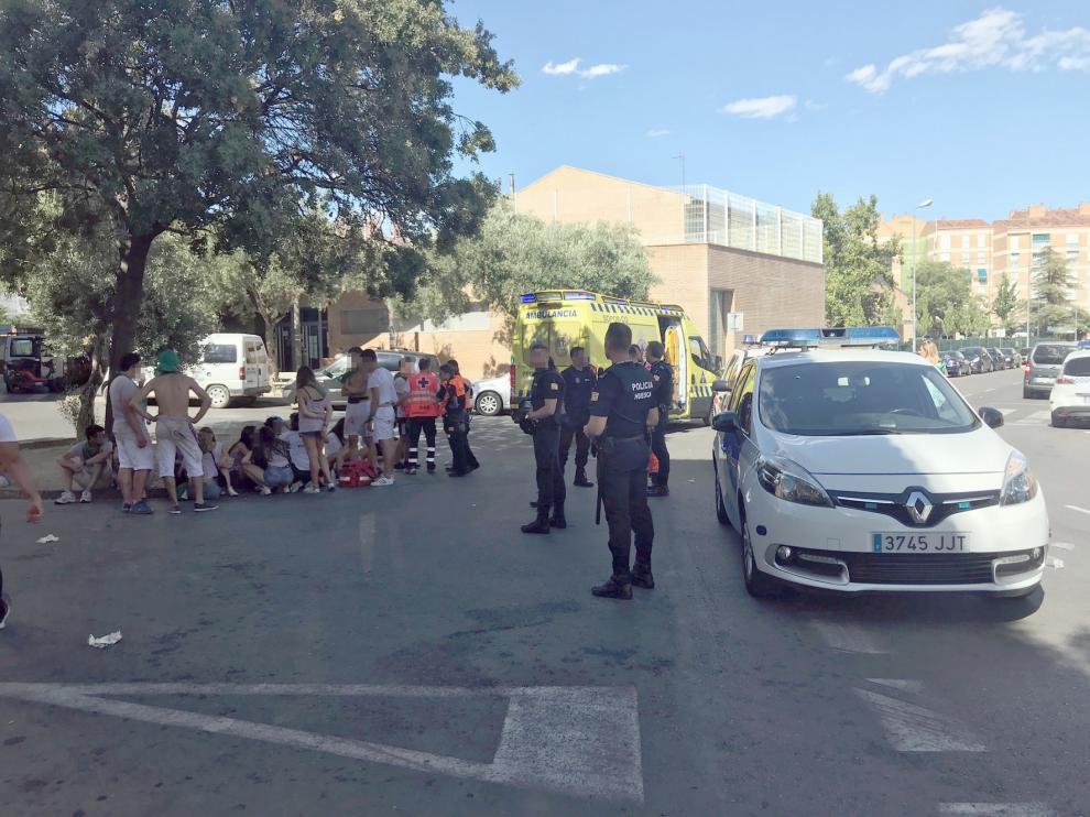Media decena de detenidos por varias peleas en el primer día festivo