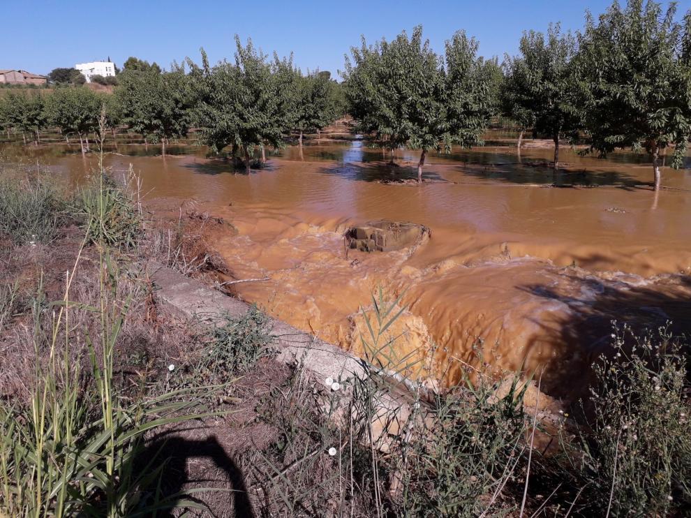Vox pregunta al Ejecutivo central por la rotura del Canal de Aragón