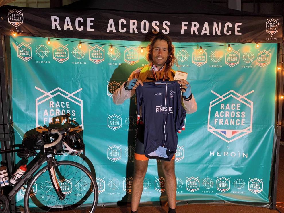 Samuel Porcel completa la tremenda Race Across France