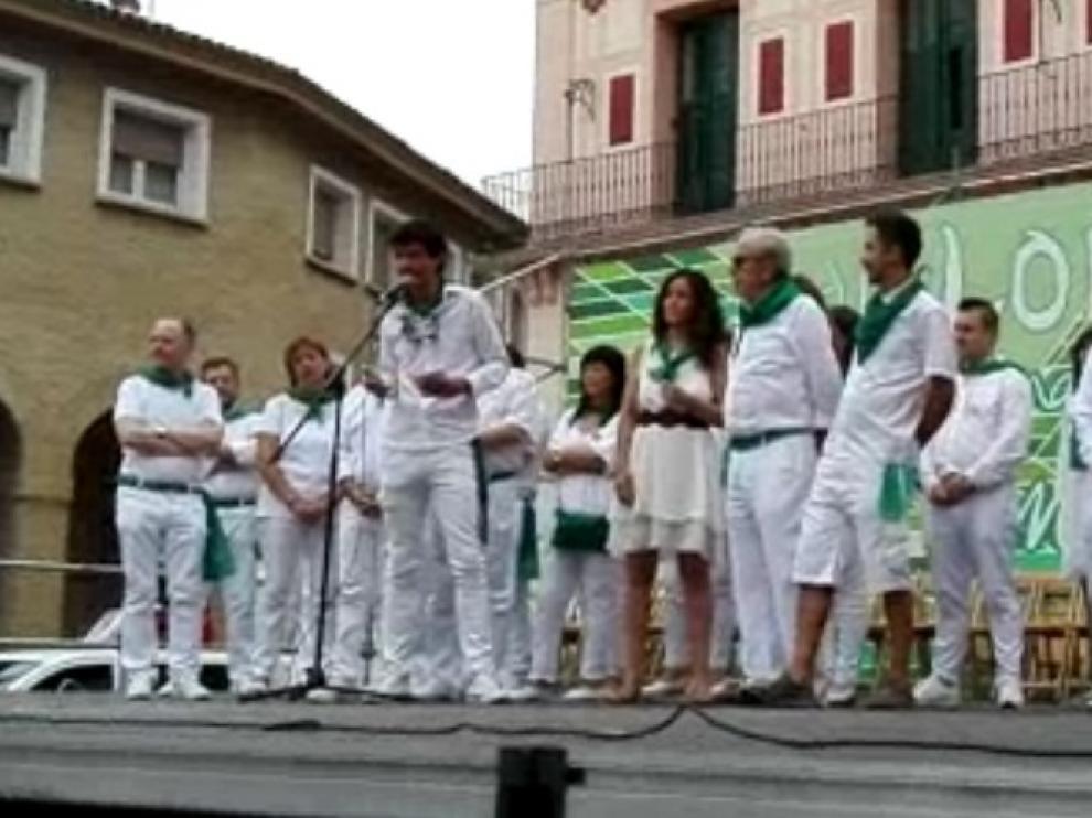 Guillermo Marro es el protagonista de la Fiesta del Comercio de Huesca