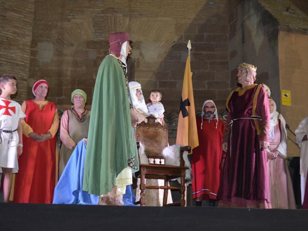 Barbastro revive la histórica firma del pacto de Esponsales