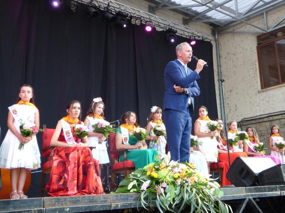 Biescas presenta a sus damas infantiles y presidentas