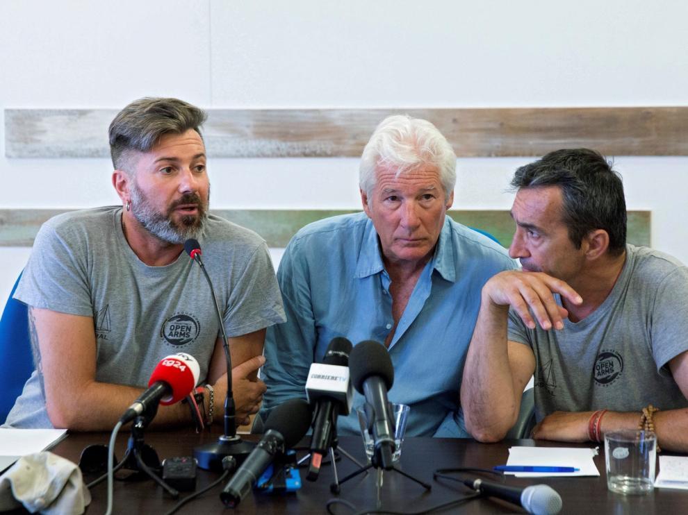 """""""Open Arms"""" rescata a un total de 39 personas más"""