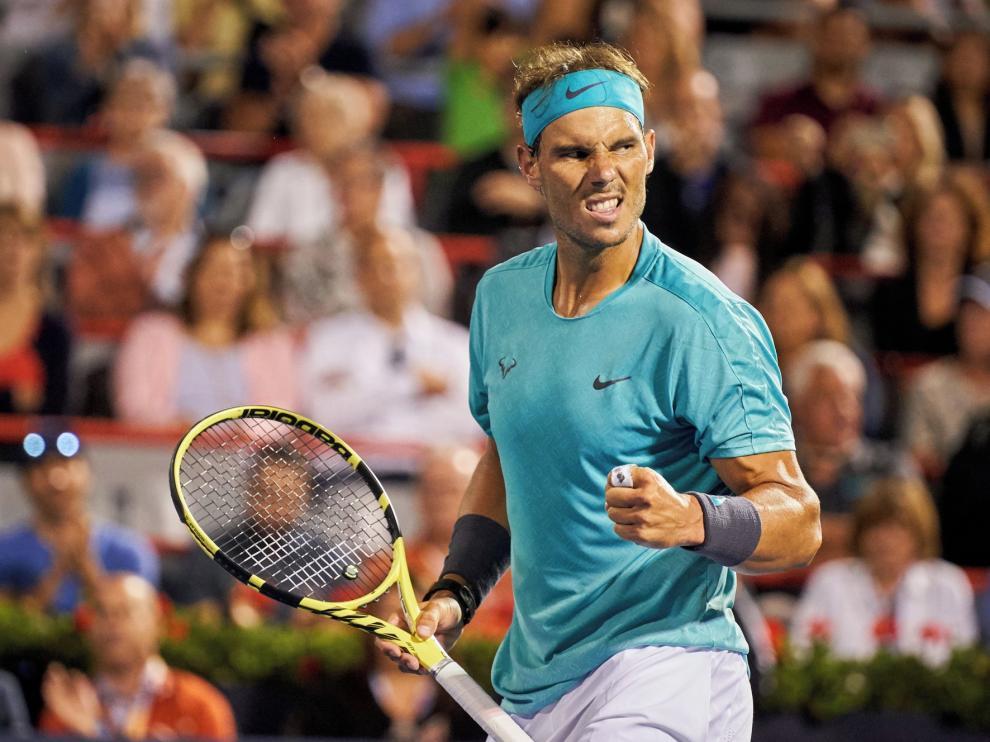 Nadal avanza a semifinales en Toronto a costa de Fognini