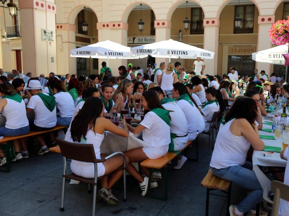 La Oficina de Turismo de Huesca registra cerca de mil visitas los dos primeros días de las Fiestas