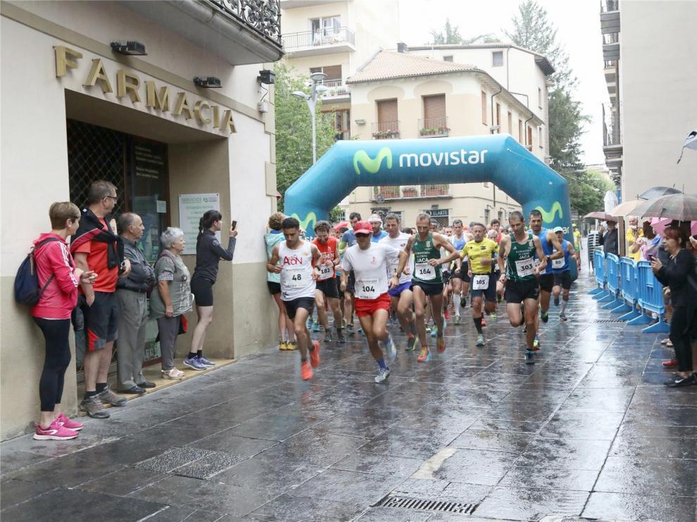 Guzmán Sanz gana la Subida a Oroel