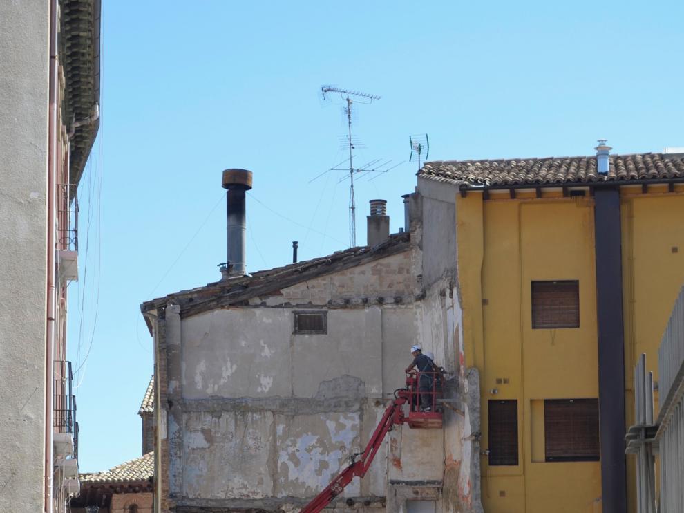 Cambios en la circulación rodada de Barbastro por obras en varias calles