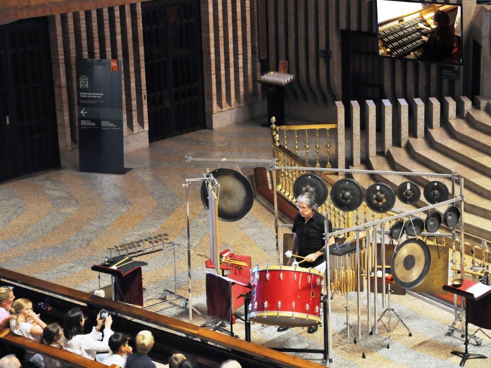 Música del siglo XXI suena en el Ciclo de Órgano de Torreciudad