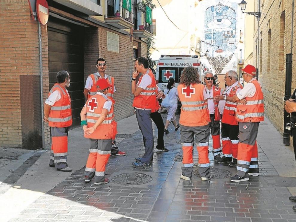 Cruz Roja refuerza la atención en San Lorenzo con casi 50 voluntarios