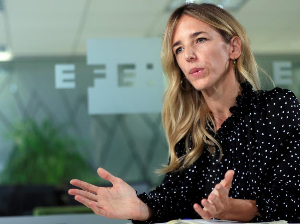 """Álvarez de Toledo emplaza a Lambán a que discrepe de """"la deriva reaccionaria"""" del PSOE"""