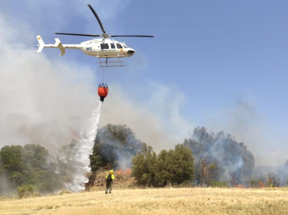 Los incendios queman 56.500 hectáreas hasta agosto, cuatro veces más que en 2018