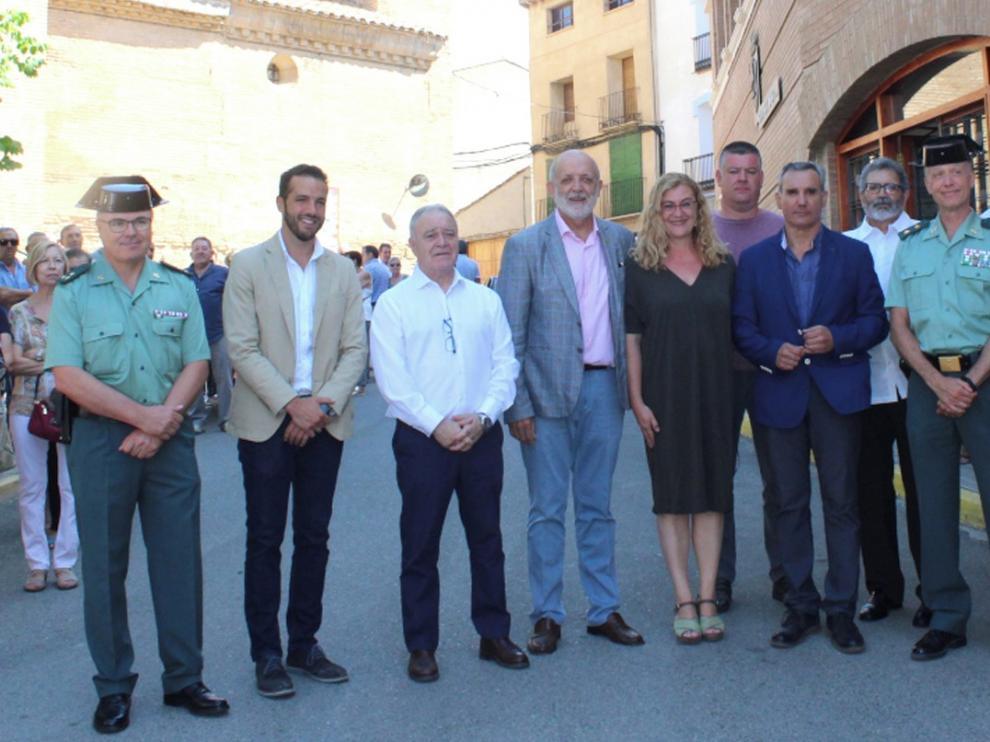 Azón marca la España vaciada como un reto de la Guardia Civil